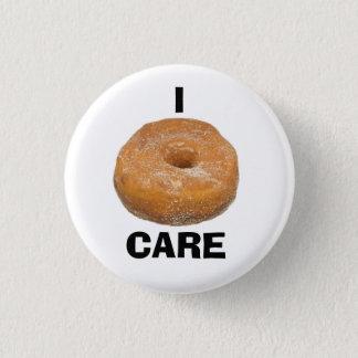 Iドーナツ()心配ボタン 3.2CM 丸型バッジ