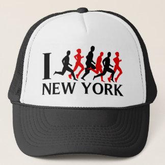 Iニューヨークを走って下さい キャップ