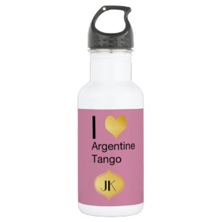Iハートのアルゼンチン人のタンゴ ウォーターボトル
