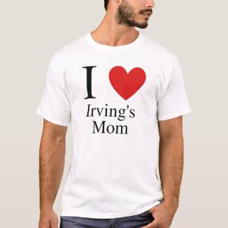 Iハートのアービングのお母さん Tシャツ