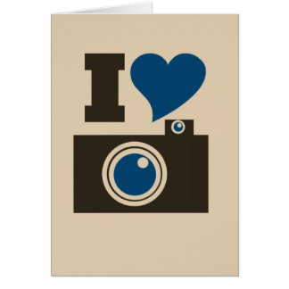 Iハートのカメラ カード