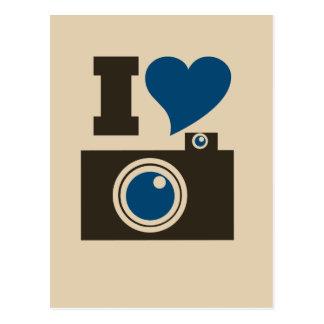 Iハートのカメラ ポストカード