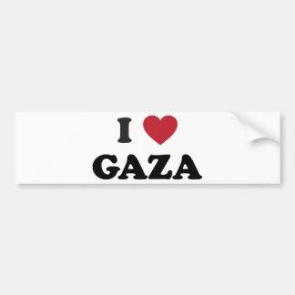 Iハートのガザのパレスチナ人 バンパーステッカー