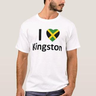 Iハートのキングストン(ジャマイカ)のTシャツ Tシャツ