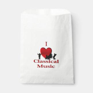 Iハートのクラシック音楽 フェイバーバッグ