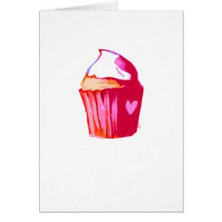 Iハートのケーキカード カード