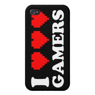 Iハートのゲーマー iPhone 4/4S ケース