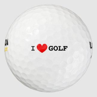 Iハートのゴルフ・ボール| Personalizable I愛文字 ゴルフボール