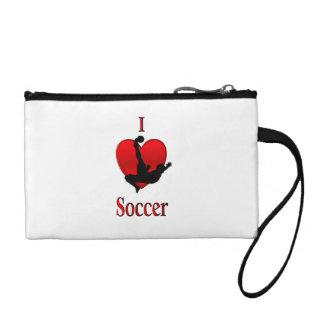 Iハートのサッカー コインパース