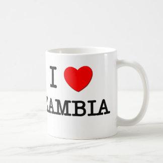 Iハートのザンビア コーヒーマグカップ