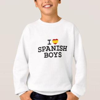 Iハートのスペイン人の男の子 スウェットシャツ