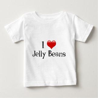 Iハートのゼリー菓子 ベビーTシャツ
