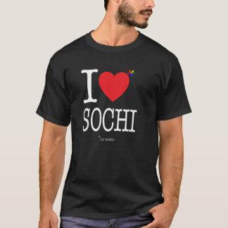 Iハートのソチの*noのヒト属 Tシャツ