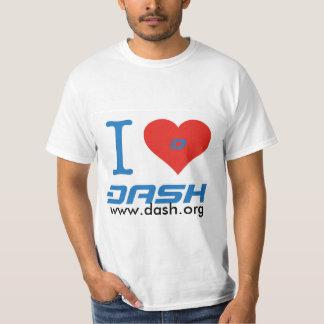 IハートのダッシュT Tシャツ