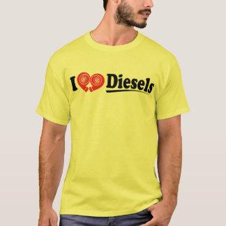 Iハートのディーゼルワイシャツ Tシャツ