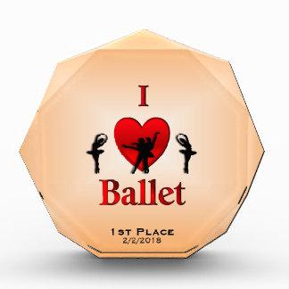 Iハートのバレエのダンス賞 表彰盾