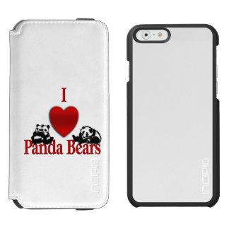 Iハートのパンダくま INCIPIO WATSON™ iPhone 6 財布ケース