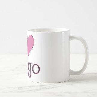 Iハートのビンゴ コーヒーマグカップ