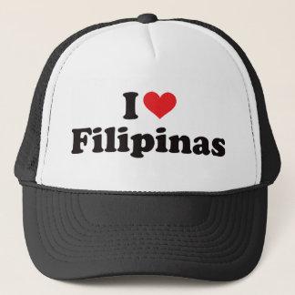 Iハートのフィリピン人 キャップ