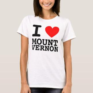 Iハートのマウントバーノンのワイシャツ Tシャツ