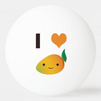 Iハートのマンゴ 卓球ボール