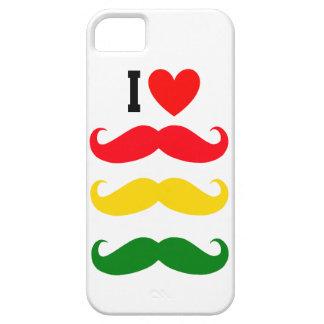 Iハートのレゲエの髭のiphoneの場合 iPhone SE/5/5s ケース