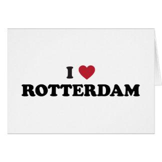 Iハートのロッテルダムのオランダ カード