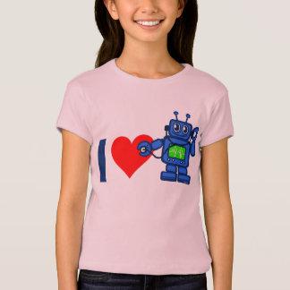 Iハートのロボット Tシャツ