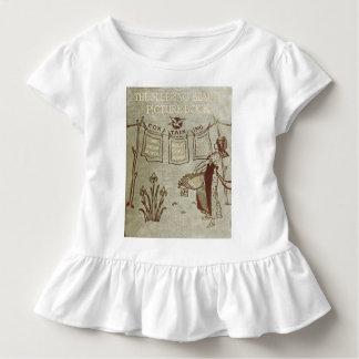 Iハートのヴィンテージの本-眠れる森の美女 トドラーTシャツ