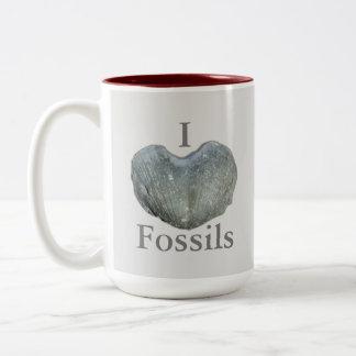 Iハートの化石 ツートーンマグカップ