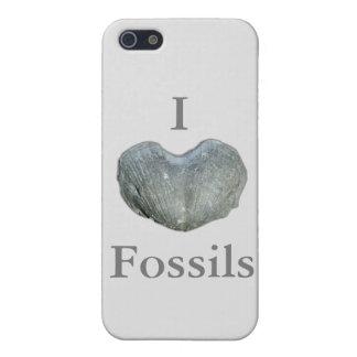 Iハートの化石 iPhone SE/5/5sケース