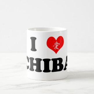 Iハートの千葉のマグ コーヒーマグカップ