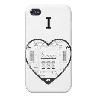Iハートの建築の場合 iPhone 4/4S ケース