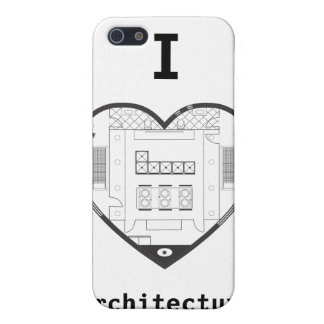 Iハートの建築の場合 iPhone 5 カバー