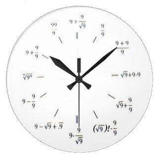 Iハートの数学 ラージ壁時計
