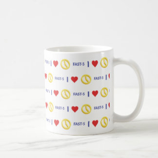 Iハートの早く5マグ コーヒーマグカップ