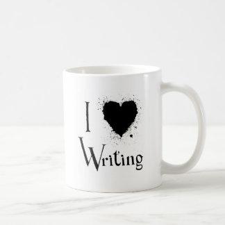 Iハートの書くこと コーヒーマグカップ
