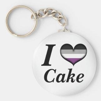 Iハートの無性ケーキ キーホルダー