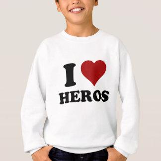Iハートの英雄 スウェットシャツ
