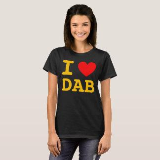 Iハートの軽打のワイシャツ Tシャツ