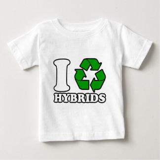 Iハートの雑種 ベビーTシャツ
