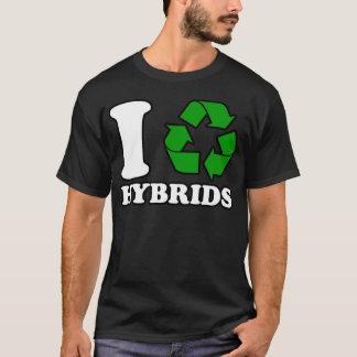 Iハートの雑種 Tシャツ