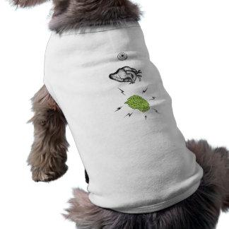 Iハートの頭脳のゾンビの小犬 ペット服