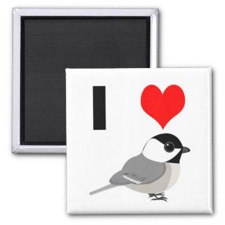 Iハートの《鳥》アメリカゴガラ マグネット