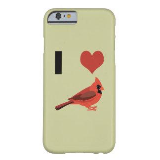 Iハートの(鳥)ショウジョウコウカンチョウ BARELY THERE iPhone 6 ケース