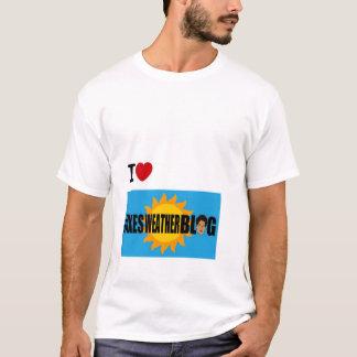 IハートのJakeの天候のブログ Tシャツ