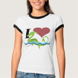 IハートのNessie Tシャツ