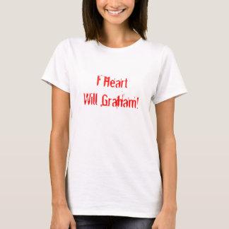 Iハートはグラハムを決定します! Tシャツ