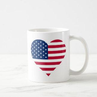 Iハートアメリカ コーヒーマグカップ