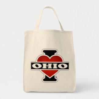 Iハートオハイオ州 トートバッグ